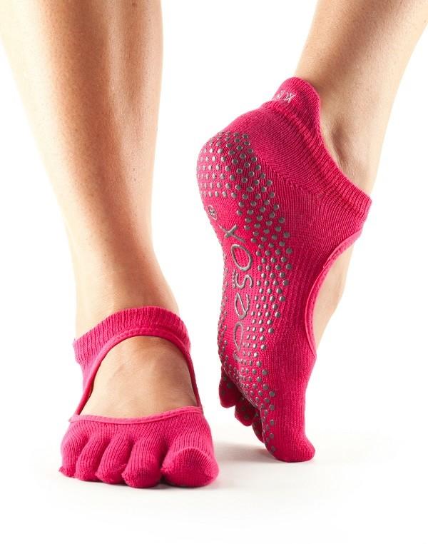 Toesox protiskluzové ponožky na jogu 54710f8bfa