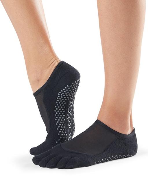 Prostiskluzové ponožky na jogu