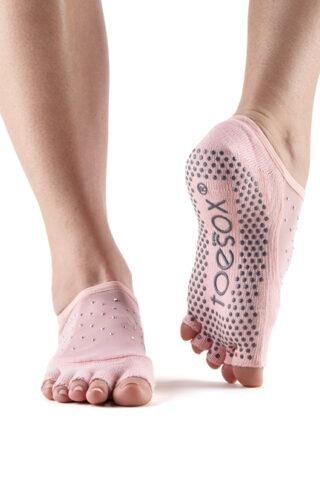 Protiskluzové prstové ponožky