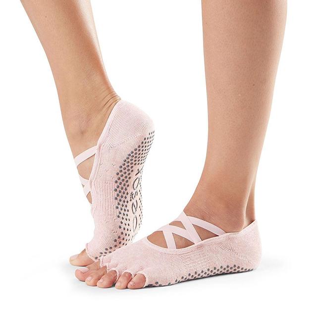 Prstové protiskluzové ponožky Toesox na jógu  0643279175